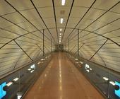 Architekturfotografie: Bahnhof Airport, Hamburg