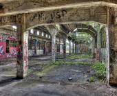 Architekturfotografie: Fabrikhalle (HDRI)