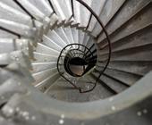 Architekturfotografie: Aussenwendeltreppe