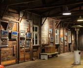Fotoausstellung Hafencity 2013: nächtlicher Blick in meinen Ausstellungsraum (HDRI)