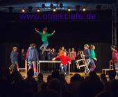 Zirkusschule TriBühne im Palazzo-Zelt in Hamburg