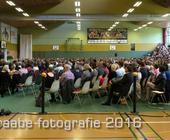 Abiturientenverabschiedung JRG, der Veranstaltungsraum.