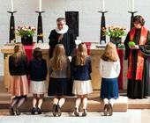 Familienfotografir: Konfirmation Melanchthongemeinde Hamburg
