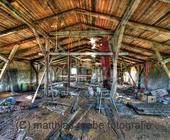 Dachboden einer alten Scheune