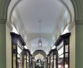 Architekturfotografie: Mellin-Passage Hamburg (HDRI). Deutschlands älteste Einkaufspassage