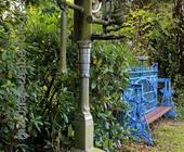 Gewerbefotografie: Edelstahlskulptur des Künstlers Walter Arno (HDRI)
